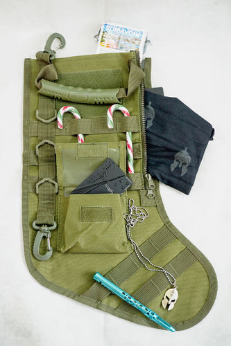 Tactical Christmas Sock