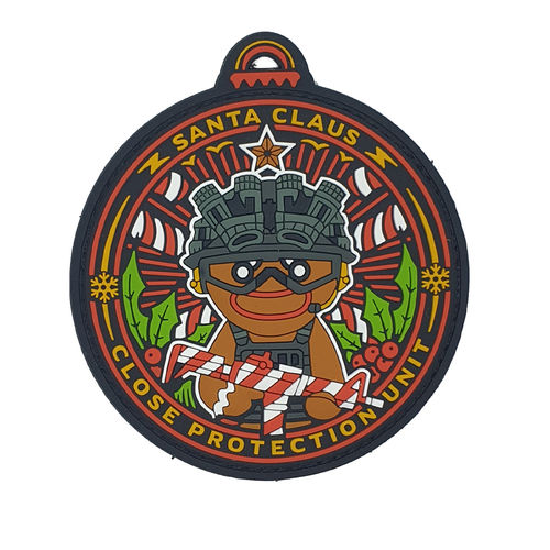 Santa Claus Close Protection Unit - PVC - Patch - Limited Edition